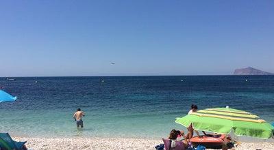 Photo of Beach Cala El Racó at Ctra Del Puerto, Calpe 03710, Spain