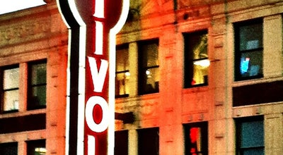 Photo of Movie Theater Tivoli Theatre at 6350 Delmar Blvd, Saint Louis, MO 63130, United States