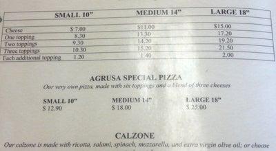 Photo of Italian Restaurant Agrusas Italian Restaurant at 14156 Rosecrans Ave #b, Santa Fe Springs, CA 90670, United States