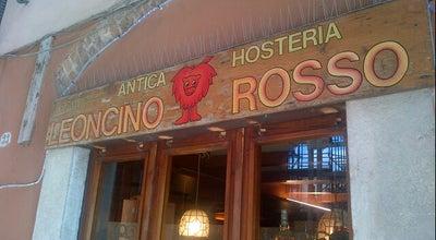 Photo of Italian Restaurant Antica Hosteria Leoncino Rosso at Via Giustiziati, 33, Mantova 46100, Italy