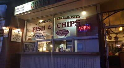 Photo of Fish and Chips Shop Coney Island Fish & Chips at 15487 Marine Drive, White Rock, BC V4B 1C9, Canada