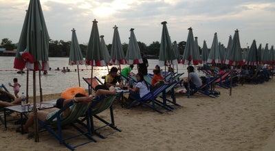 Photo of Beach หาดทรายท่าน้ำชุกโดน at Thailand