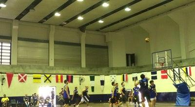 Photo of Basketball Court โรงพลศึกษา รร.ชุมพลฯ at Thailand