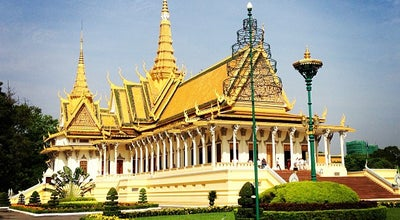 Photo of Monument / Landmark Royal Palace, Phnom Penh at Samdach Preah Theamak Lethet Ouk, Phnom Penh, Cambodia