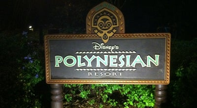 Photo of Resort Disney's Polynesian Village Resort at 1600 Seven Seas Dr, Lake Buena Vista, FL 32830, United States