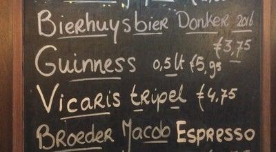 Photo of Bar Drinkerij 't Bierhuys at Van Oudheusdenstraat 3a, Woerden 3441 AM, Netherlands