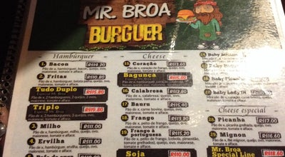 Photo of Burger Joint Mr. Broa at Rua Rodrigues Lima, Bagé, Brazil