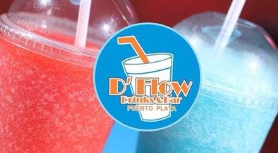 Photo of Cocktail Bar D flow drinks at Ensanche Luperon Calle Top Suarez, Puerto Plata, Dominican Republic