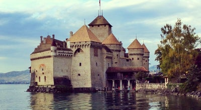 Photo of Castle Château de Chillon at Avenue De Chillon 21, Veytaux 1820, Switzerland
