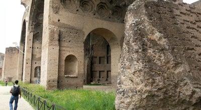 Photo of Historic Site Basilica di Massenzio at Piazza Santa Maria Nova, Roma 00186, Italy