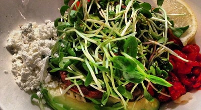 Photo of Vegetarian / Vegan Restaurant Fresh at 90 Eglinton Avenue East, Toronto, ON M4P 1A6, Canada
