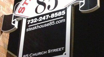 Photo of Steakhouse Steakhouse 85 at 85 Church St, New Brunswick, NJ 08901, United States