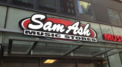 Photo of Music Store Sam Ash Music at 333 W 34th St, New York, NY 10001, United States