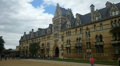 Photo of College Academic Building Oxford University at United Kingdom