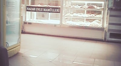 Photo of Bakery Nazar Unlu Mamüller at Ankara Cad. No: 68/b, Adapazarı 54030, Turkey