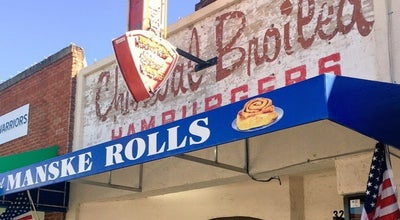 Photo of Burger Joint Gil's Broiler & Manske Roll Bakery at 328 N Lbj Dr, San Marcos, TX 78666, United States