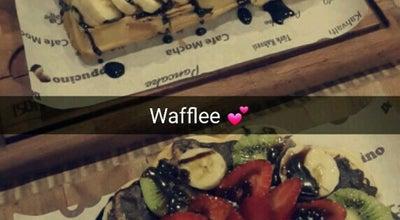 Photo of Belgian Restaurant Waffle Dünyası at Kemal Öz Mahallesi, Uşak, Turkey