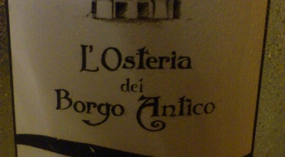 Photo of Italian Restaurant L'osteria del borgo antico at bari, Italy