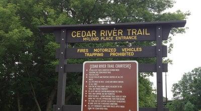 Photo of Trail Cedar RiverTrails-McLoud Place Entrance at Cedar Rapids, IA 52402, United States