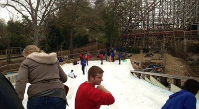 Photo of Theme Park Frosty Snow Hill at Six Flags Over Texas, Arlington, TX, United States