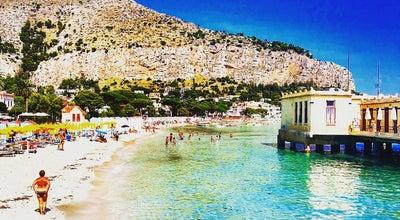 Photo of Beach Antico Stabilimento Balneare di Mondello at Italy