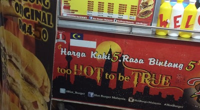 Photo of Burger Joint Hot Burger Taman Samarinda at Malaysia