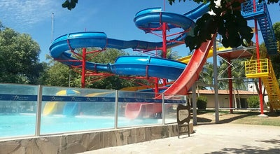 Photo of Pool Piscina das Tochas 34 graus at Brazil