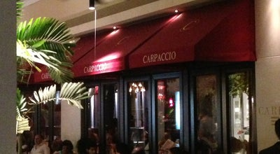 Photo of Italian Restaurant Carpaccio at 9700 Collins Ave, Bal Harbour, FL 33154, United States