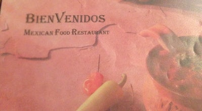 Photo of Mexican Restaurant BienVenidos at 405 W Dickinson Blvd, Fort Stockton, TX 79735, United States