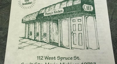 Photo of Cafe Penny's Kitchen at 112 W Spruce St, Sault Sainte Marie, MI 49783, United States
