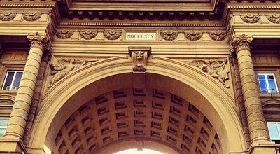 Photo of Plaza Piazza della Repubblica at Piazza Della Repubblica, Firenze 50123, Italy
