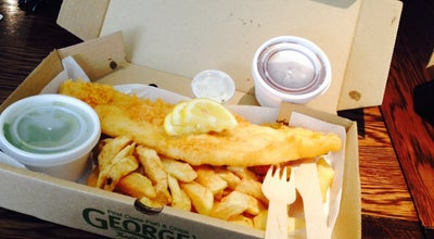 Photo of Fish and Chips Shop George's Tradition at 8 Park Farm Centre, Allestree, DERBY DE22 2QN, United Kingdom