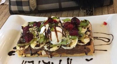 Photo of Dessert Shop Dondurmam Gaymak Waffle at Marmaris Marina, Turkey