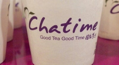 Photo of Bubble Tea Shop Chatime 日出茶太 at 858 Lexington Ave, New York, NY 10065, United States