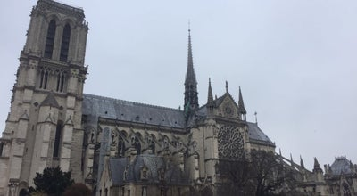 Photo of Historic Site Cathedrale Notre-Dame at Place Jean-paul Ii, Paris, France