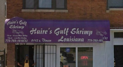 Photo of Seafood Restaurant Haire's Gulf Shrimp at 8112 S Vincennes Ave, Chicago, IL 60620, United States