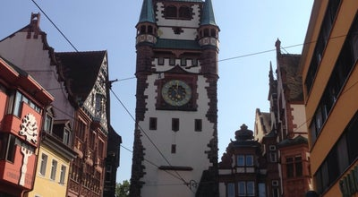 Photo of Historic Site Martinstor at Freiburg im Breisgau, Germany