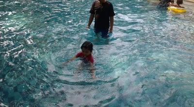 Photo of Pool Swimming Pool & Garden Resto Ledian Hotel at Indonesia