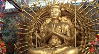 Photo of Temple ศาลเจ้าแม่กวนอิม พันเนตรพันกร มูลนิธิโลกุตรธรรมประทีป อ่างศิลา ชลบุรี at Thailand