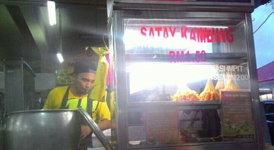 Photo of Chinese Restaurant Cashier Market at Taiping, Malaysia