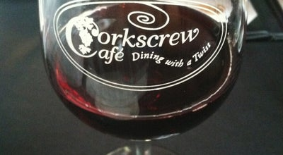 Photo of American Restaurant Corkscrew Cafe at 51 Main St, Dahlonega, GA 30533, United States