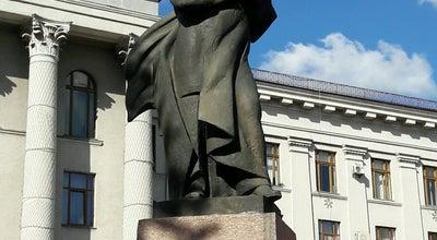 Photo of Monument / Landmark Пам'ятник Т. Г. Шевченку at Просп. Волі, Lutsk 43000, Ukraine