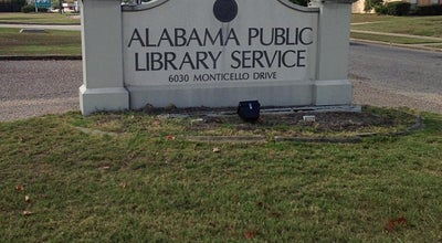 Photo of Library Alabama Public Library Service at Montgomery, AL 36117, United States