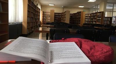 Photo of Library Hüseyin Hüsnü Tekışık Kütüphanesi at Turkey