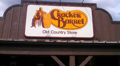 Photo of American Restaurant Cracker Barrel Old Country Store at 16 Nashua Rd I-93 & Sr 102, Londonderry, NH 03053, United States