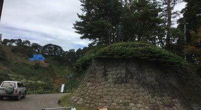 Photo of Monument / Landmark 謙信公銅像 at 中屋敷字春日山, 上越市, Japan