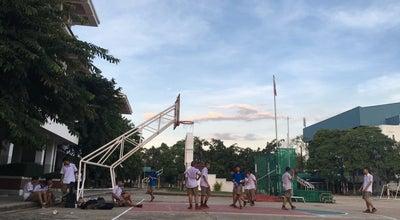 Photo of Basketball Court โต๊ะสีเขียวใต้ตึก5 at โรงเรียนเบ็ญจะมะมหาราช, Thailand