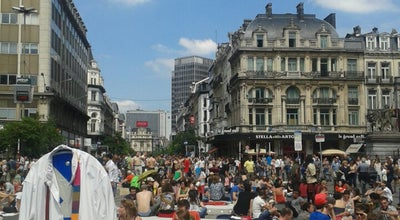 Photo of Rest Area Pic Nic the Streets at Boulevard Anspachlaan, Brussels 1000, Belgium