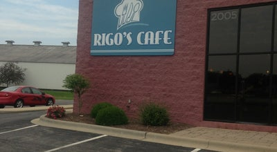 Photo of American Restaurant Rigo's Cafe at 2005 W Court St, Kankakee, IL 60901, United States