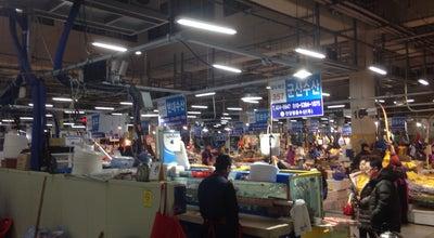 Photo of Seafood Restaurant 안양 농수산물 회센터 at 동안구 흥안대로 313, 안양시, South Korea